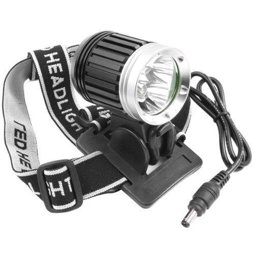 WEWOM Fahrradbeleuchtung mit 3 CREE LED 3600 Lumen mit Schnellbefestigung