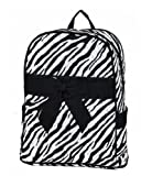 Lar Lar Quilted Zebra Large Backpack