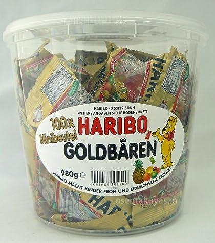 HARIBO �ϥ�ܡ� �ߥ˥�����ɥ٥� �Х��� 980g (100������)