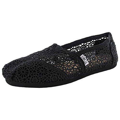 Toms Womens Classic Crochet Slip On