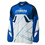 Yamaha Racing One Industries Carbon Jersey Blue White Black Medium