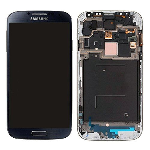 cellphoneage® for Samsung Galaxy S4 SIV (GSM Models - T-Mobile M919 AT&T I337) Generic OEM Full Set [with Frame] LCD Screen Replacement Digitizer Assembly Display Monitor Touch Panel Black + Free Repair Tool Kits (Display S4 compare prices)