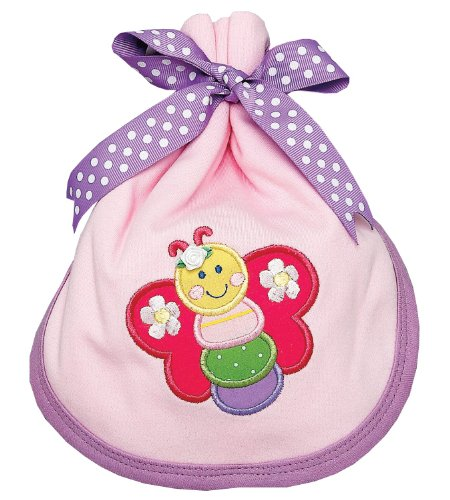 AM PM Kids! Burp Pad, Baby Butterfly
