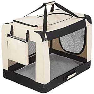 tectake cage sac box caisse de transport pour chien chat. Black Bedroom Furniture Sets. Home Design Ideas