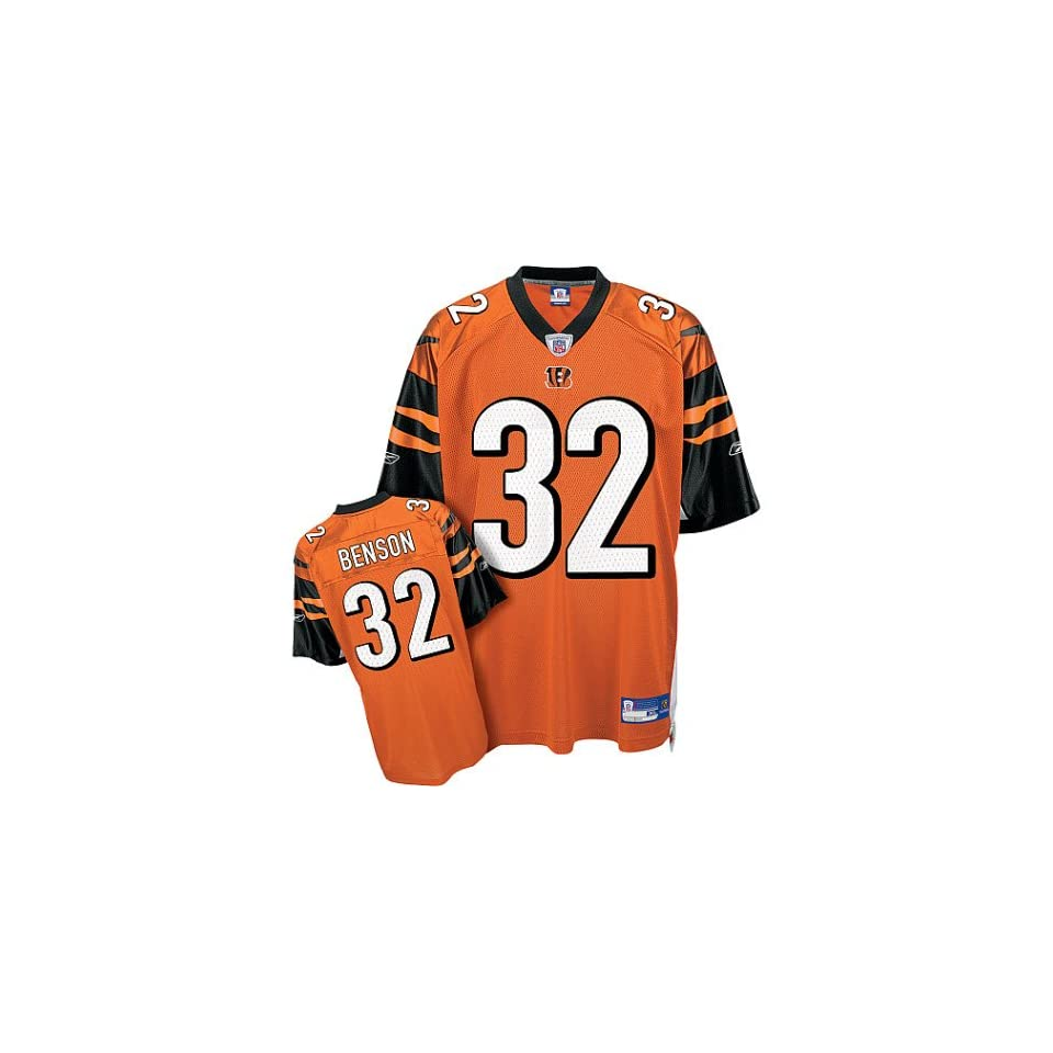 8c13aba6 Youth Cincinnati Bengals #32 Cedric Benson Alternate Replica Jersey ...