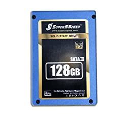 SuperSSpeed Hyper Gold S301 128GB SATA III 6.0Gb/s SLC Solid State Drive