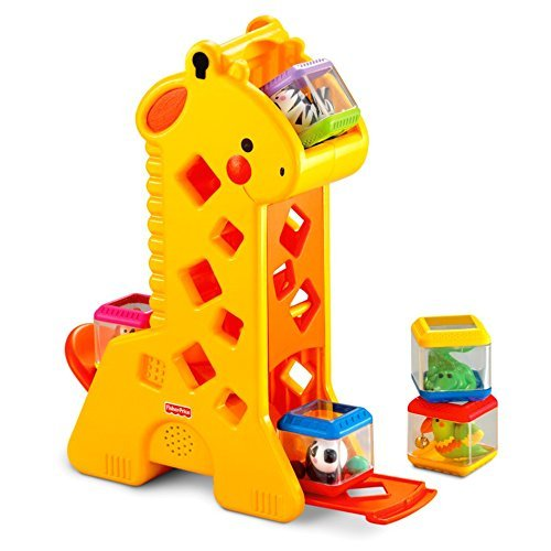 Fisher-Price Peek-a-Blocks Tumblin' Sounds Giraffe