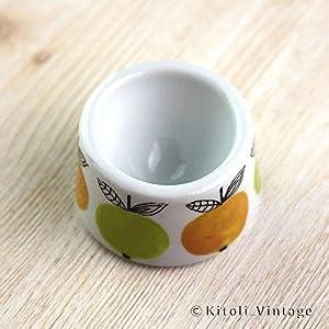 北欧ヴィンテージ フィンランド Arabia(アラビア)Marja(マルジャ) エッグカップ