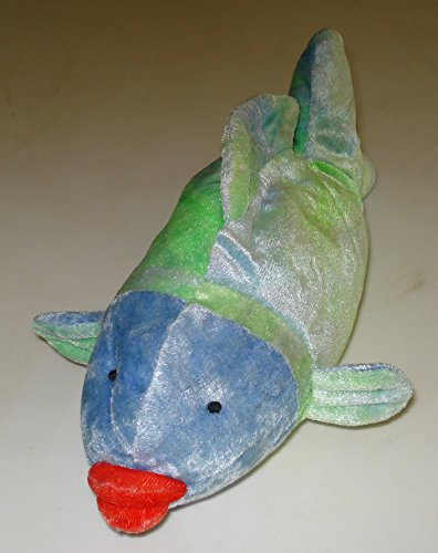 Puckers the Fish Bean Bag Plush - 9 Inches - 1