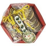 La Mia Pasta Gift Basket (Tagliolini Truffle Flavour, 5 Flavoured Short Pasta Creste and Dipperstool)