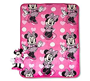 Minnie Mouse Pillow And Blanket Car Interior Design