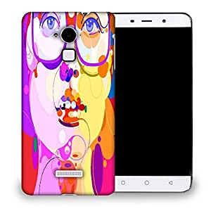 Snoogg Girl With Specks Designer Protective Back Case Cover For COOLPAD NOTE 3