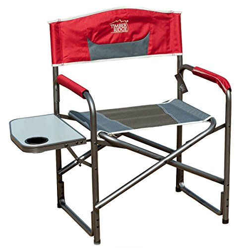 TimberRidge Aluminum Portable Director s Folding Chair