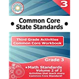 Third Grade Common Core Workbook: Math Activities