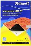Pelikan Kohlepapier Interplastic 1022G, DIN A4, 10 Blatt, 1...