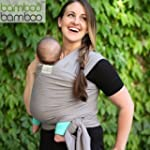 Bamboo Baby Sling Hands-Free Carrier...