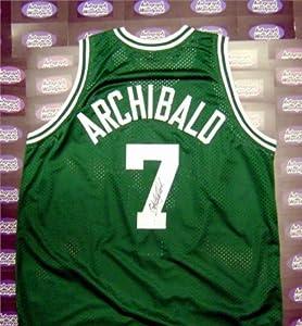 Nate Archibald autographed Jersey (Boston Celtics) PSA