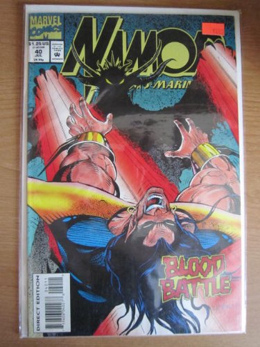 Namor Blood Battle Vol # 40 comics - 1