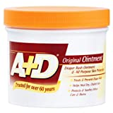 A + D Original Ointment Jar, Diaper Rash and All-Purpose Skincare Formula - 1 lb