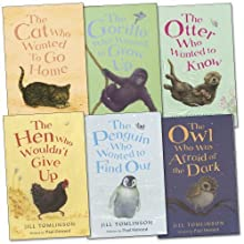 Jill Tomlinson Pack, 6 books, RRP £28.94 (The Cat Who Wanted To Go Home, The Hen Who Wouldn't Give Up, The Otter Who Wanted To Know, The Owl Who Was Afraid Of The Dark, The Penguin Who Wanted To Find Out, The Gorilla Who Wanted to Grow). (Paperback)