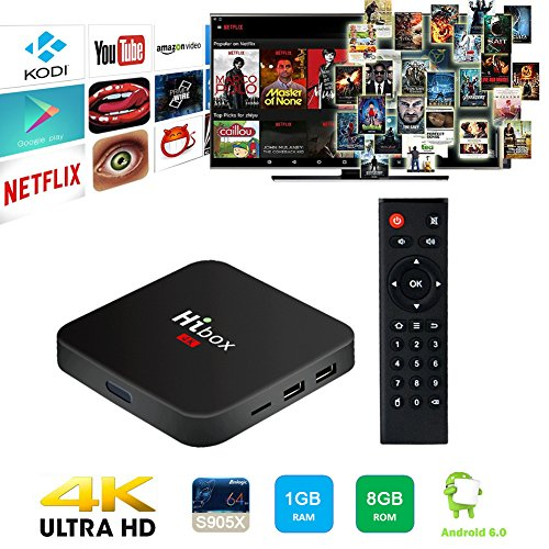 Greatever-T95Z-PLUS-TV-BOX-Amlogic-S912-Octa-Core-Android-60-Marshmallow-2GB-DDR3-16GB-EMMC-Flash-KODI-Pre-installed-24G5G-Dual-WIFI-Band-1000M-LAN-Bluetooth40-UHD-4K-3D-Streamming-Media-Player
