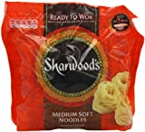 Sharwood's Ready to Wok Medium Soft Noodles 300 g (Pack of 6)