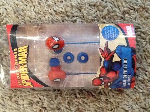 Spiderman 11544-Tru 3D Molded Classic Earbuds