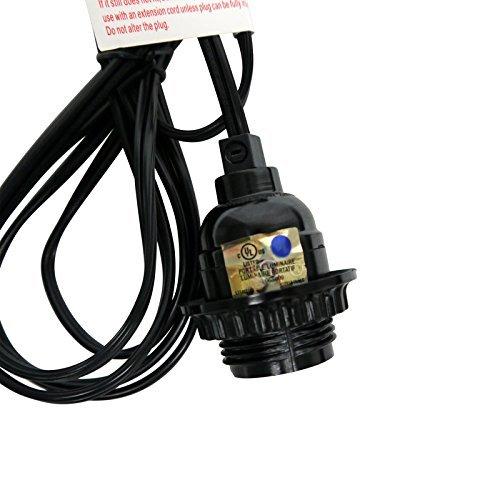 Single Socket Pendant Light Cord Kit For Lanterns11FT,UL