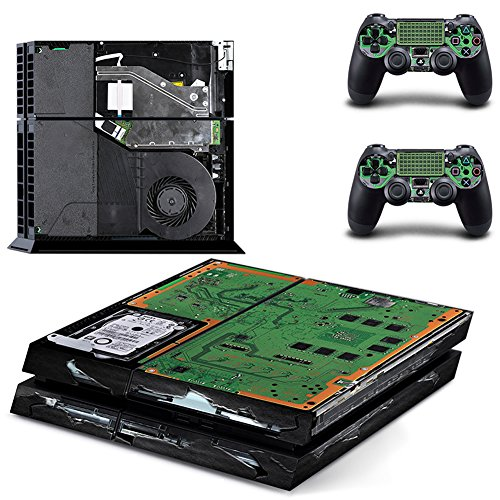 Richipy Stickers Exclusive custom Vinyl Game Protective Skin Sticker for Sony PS4 PlayStation 4 and 2 controller skins PS4 Stickers (Custom Skins For Ps4 compare prices)