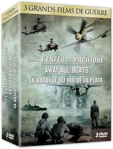 Away all Boats - La Bataille de Rio de la Plata - Dans l'Enfer du Pacifique - Coffret