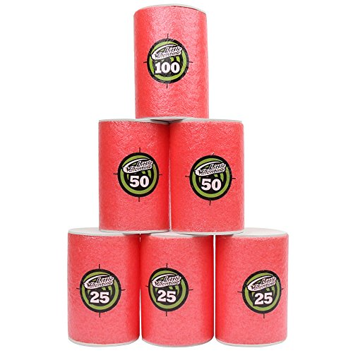 Little Valentine Large Size 6 Pcs EVA Soft Targets for Nerf N-strike Elite Series Blasters and Target Games (Foam Cans compare prices)