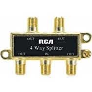 Audiovox Accessories VH49R 4-Way Splitter