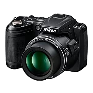 Nikon COOLPIX L120 14.1 MP Digital Camera with 21x NIKKOR Wide-Angle Optical Zoom Lens and 3-Inch LCD