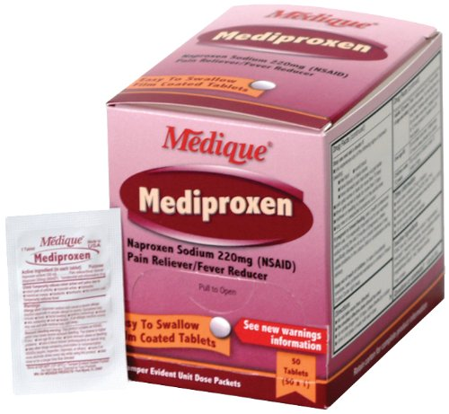Medique 23750 Mediproxen, 50 Tablets