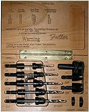 W L Fuller 10393011C  11 5-Piece Taper Drill Set