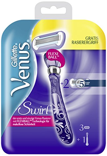 Gillette-Venus-Swirl-Damenrasierer-3-Klingen-mit-1-Handstck
