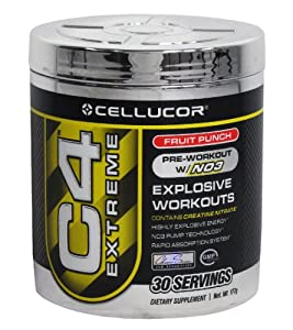Cellucor C4 Extreme Fruit Punch - 30 Servings