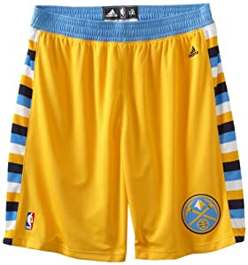 Adidas Denver Nuggets Adult NBA Swingman Basketball Shorts by adidas