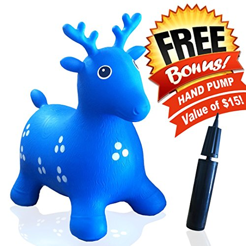 ToysOpoly-Inflatable-Hopper-Cutest-Bouncy-Chair-for-kids-on-Amazon-Real-Heavy-Duty-Eco-Friendly-Rubber-Free-Hand-Pump-Bring-a-Ton-of-Fun-Blue
