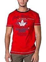 CANADIAN PEAK Camiseta Manga Corta Jartiste (Rojo)
