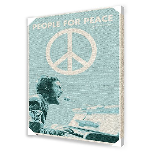 "John Lennon ""People For Peace"" Canvas Art, 24 By 36-Inch"