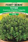 Ferry-Morse 1389 Thyme Herb Seeds (250 Milligram Packet)