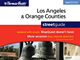 Los Angeles & Orange Counties Street Guide 52nd Edition (Thomas Guide Los Angeles/Orange Counties Street Guide & Directory)
