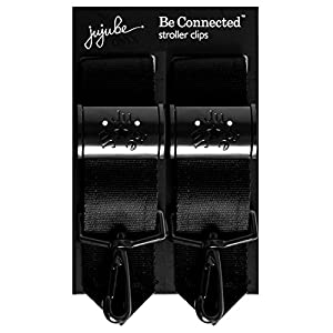 Be Connected Stroller Clip - Onyx from Ju-Ju-Be