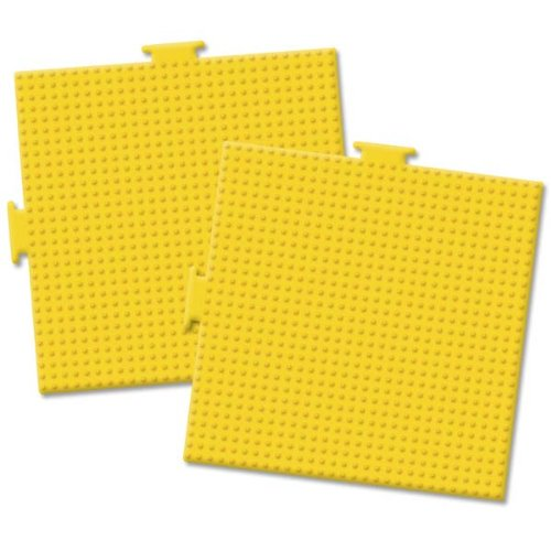 Perler Bead Pegboards 5-1/2-Inch-by-5-1/2-Inch, 2-Pack, Square - 1