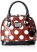 Disney Minnie Polka Dot Mini Embossed Top Handle Bag