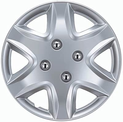 "Drive Accessories KT-958-14S/L, Honda Civic, 14"" Silver Replica Wheel Cover, (Set of 4)"