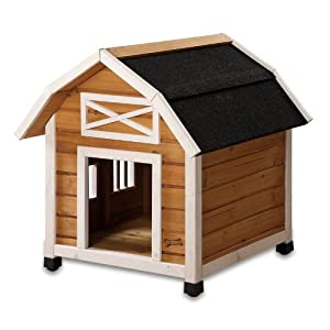 Pet Squeak The Barn Dog House, Small