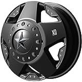 "XD-Series 775 Rockstar Dually Matte Black Front Wheel (17x6""/8x6.5"")"