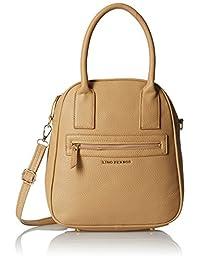 Lino Perros Women's Handbag (Beige) - B01DLW3LBS